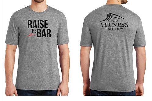 T-Shirt - Mens Grey Frost - Raise the Bar