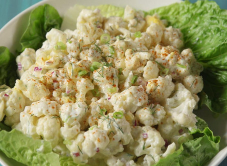 "Cauliflower ""Potato Salad"""