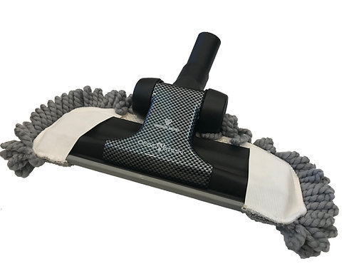 Multi-Surface Floor Brush with Micro-fiber Mop