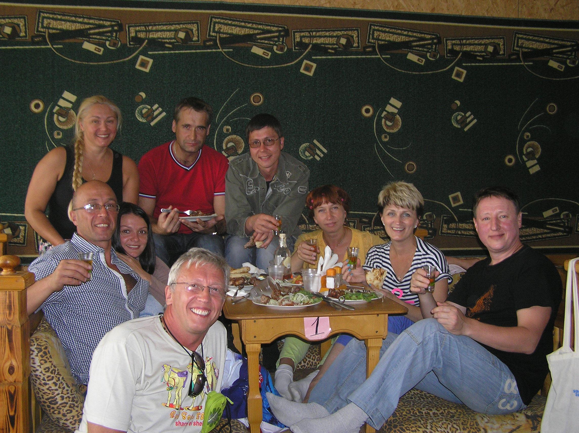 В татарском ресторане
