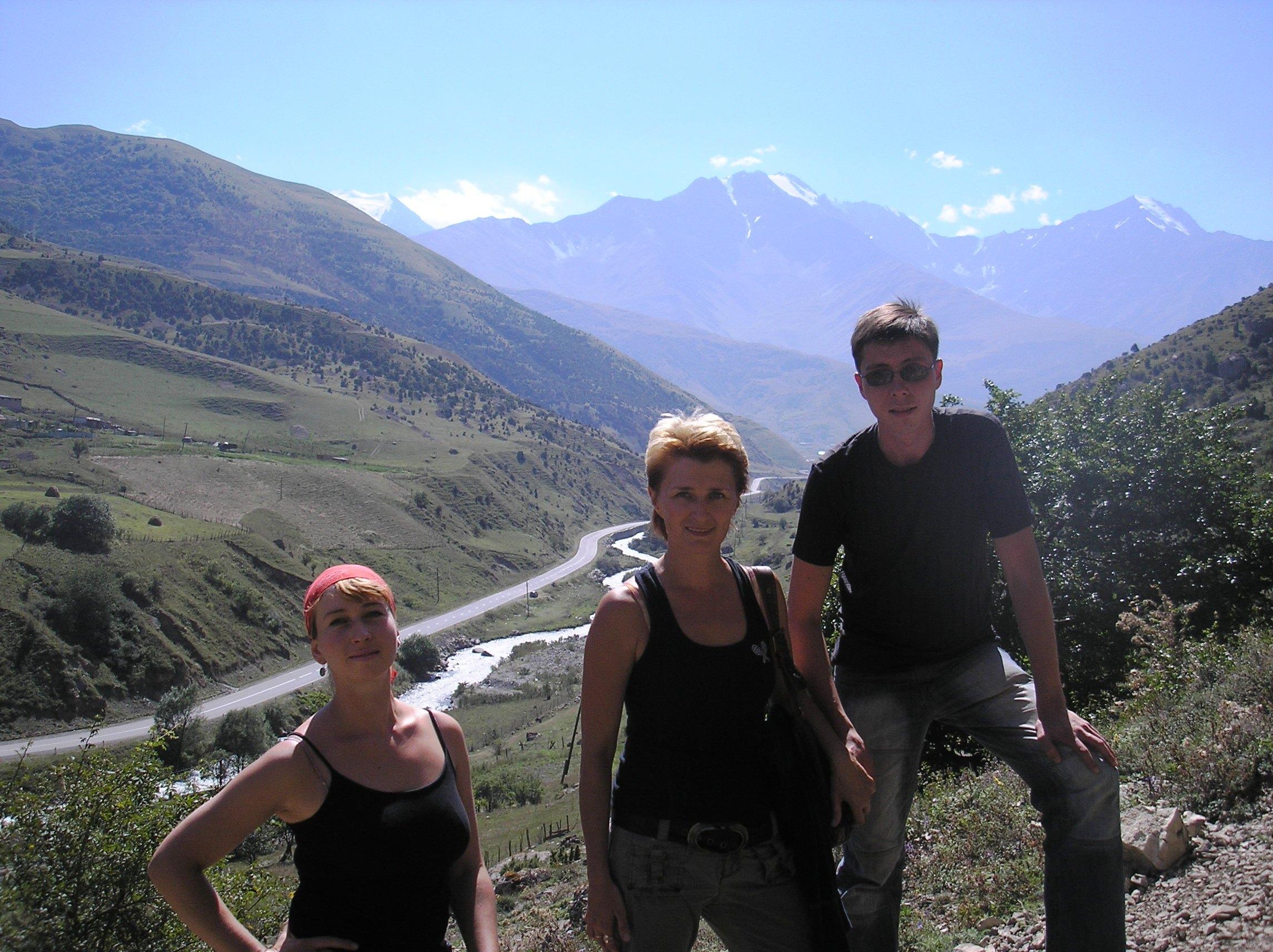 Mountains in Osetia