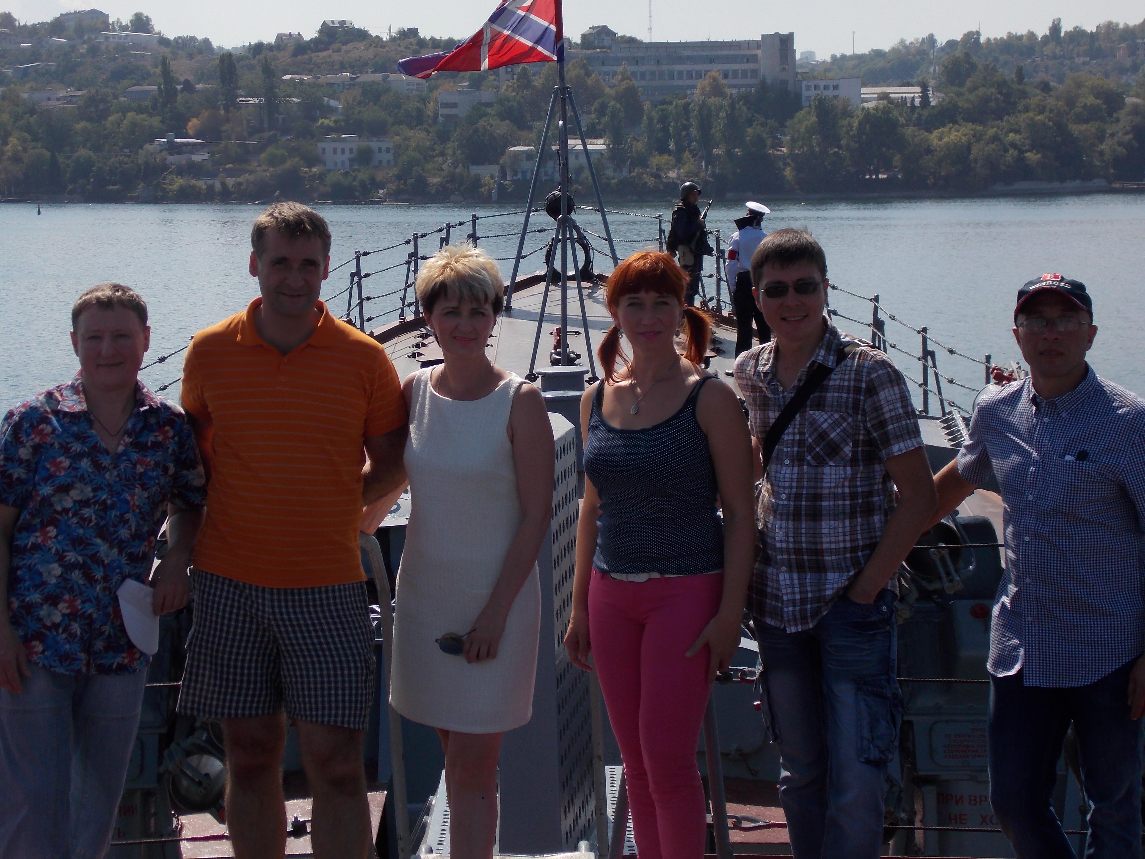 Экскурсия по лайнеру