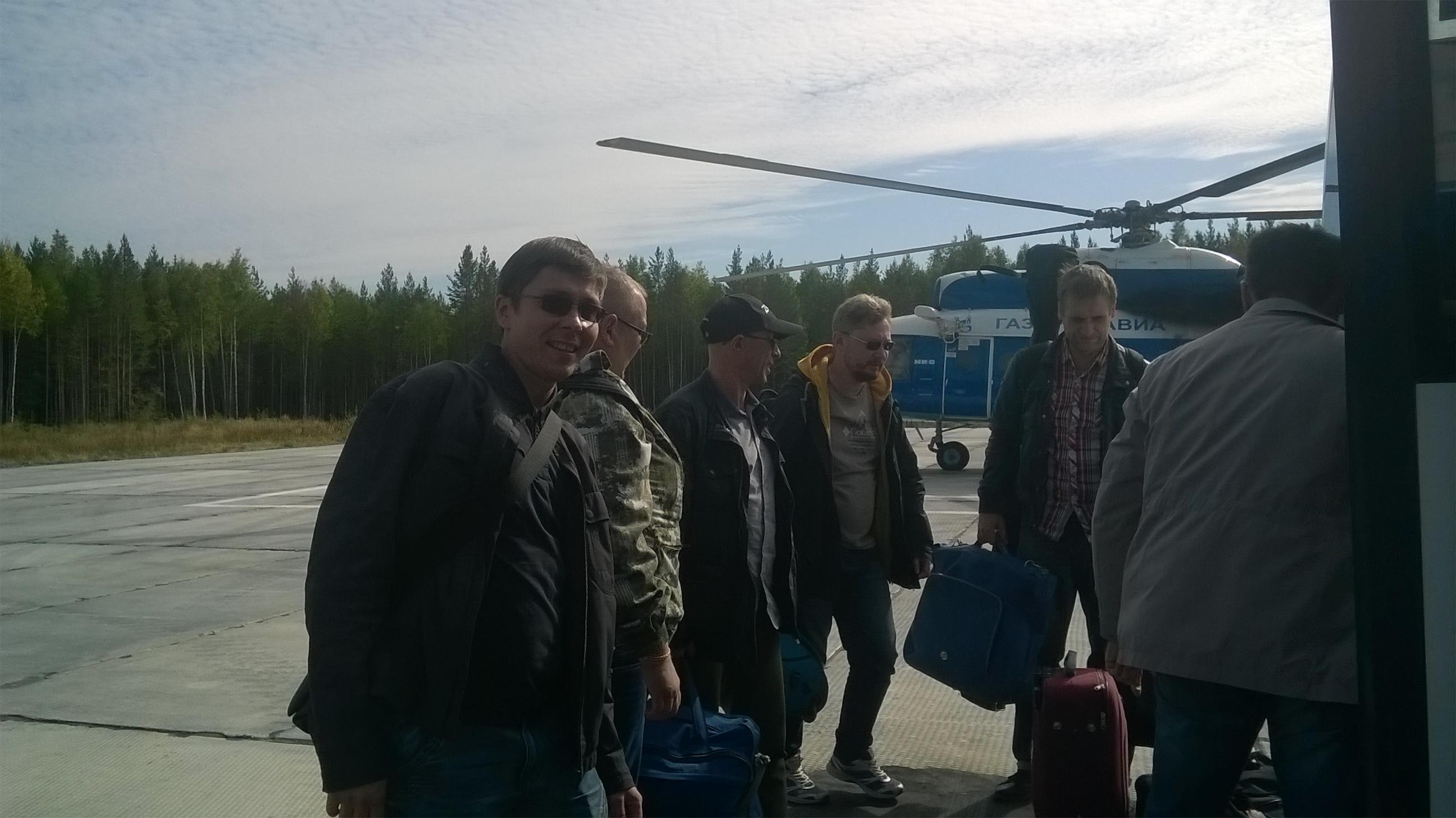 Любимый вид транспорта - вертолет!