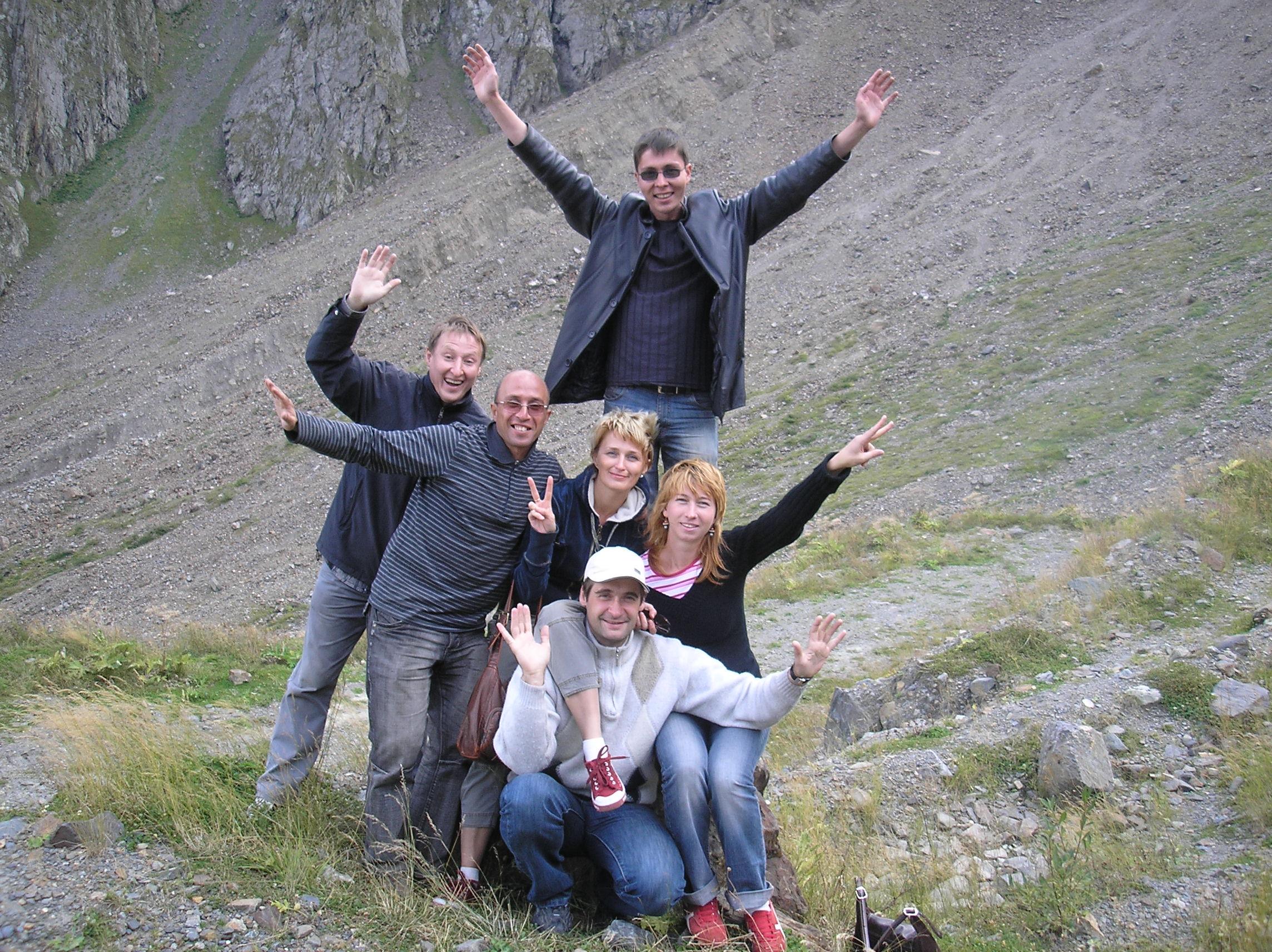 in Osetia