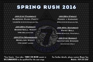 Spring 2016 Rush Week Starts Today!