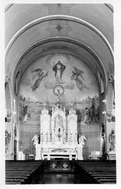 Interior of St. Patrick's 1950