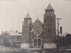 Exterior of St. Patrick's 1910