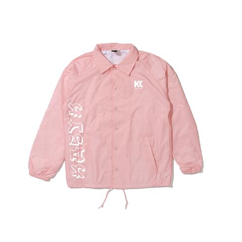 Kasyk Pink Coach Jacket