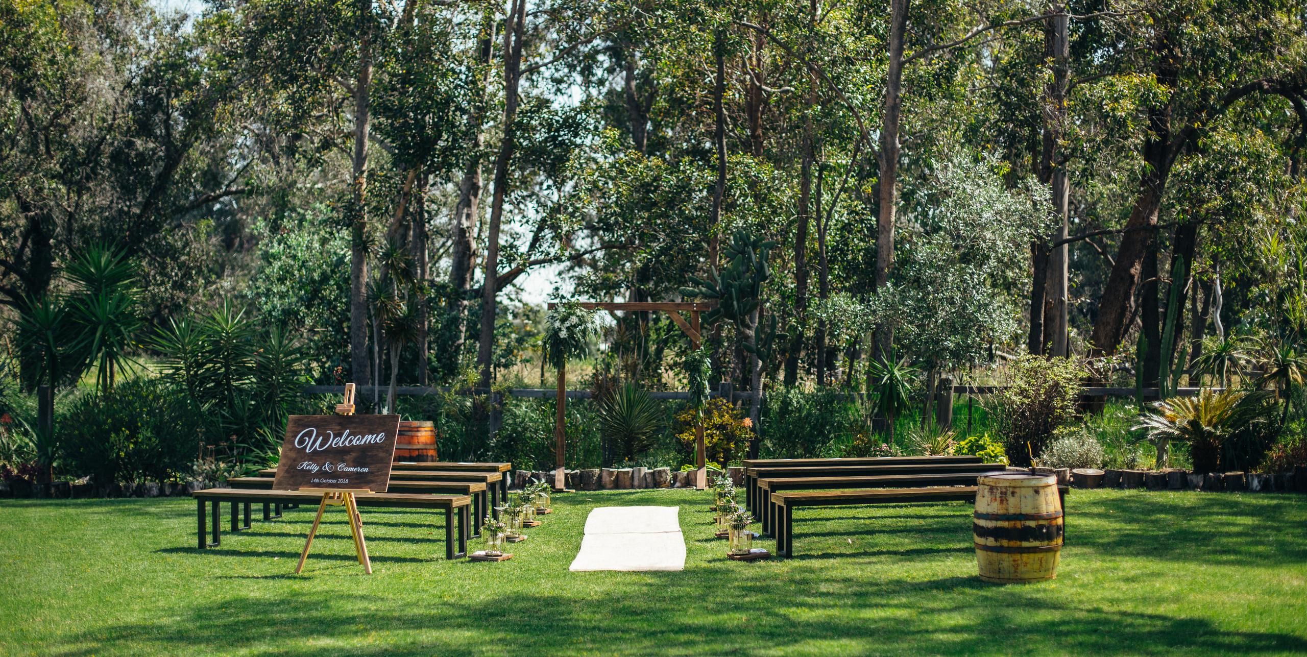 Rustic Ceremony \\ Fine Line Photography