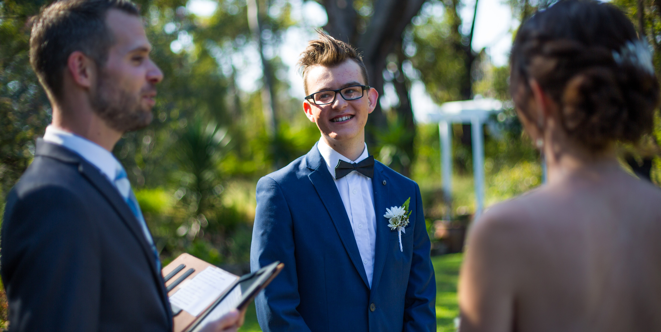 Wedding Ceremony \\ Fine Line Photography