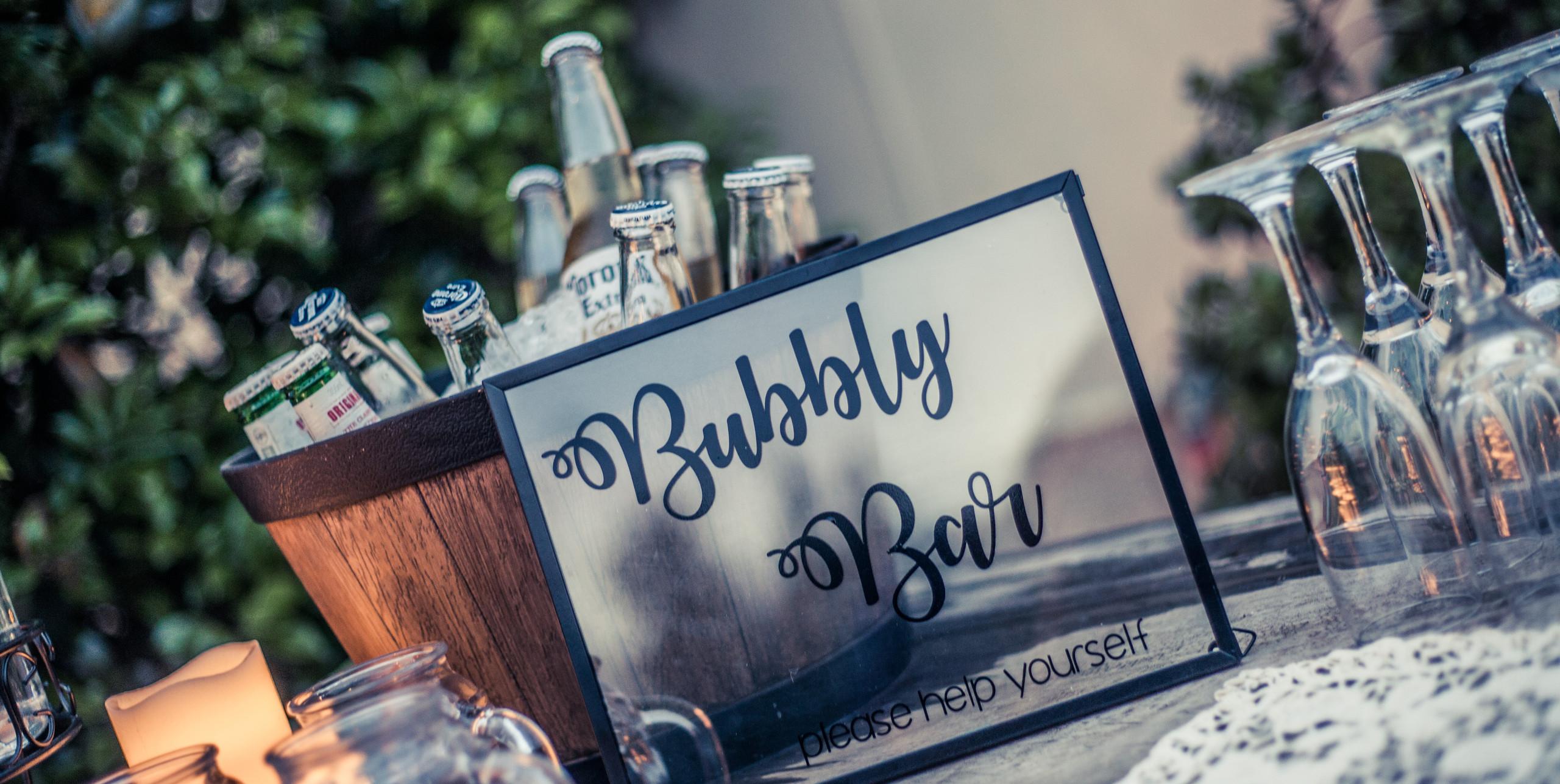 Bubbly Bar \\ Fine Line Photography
