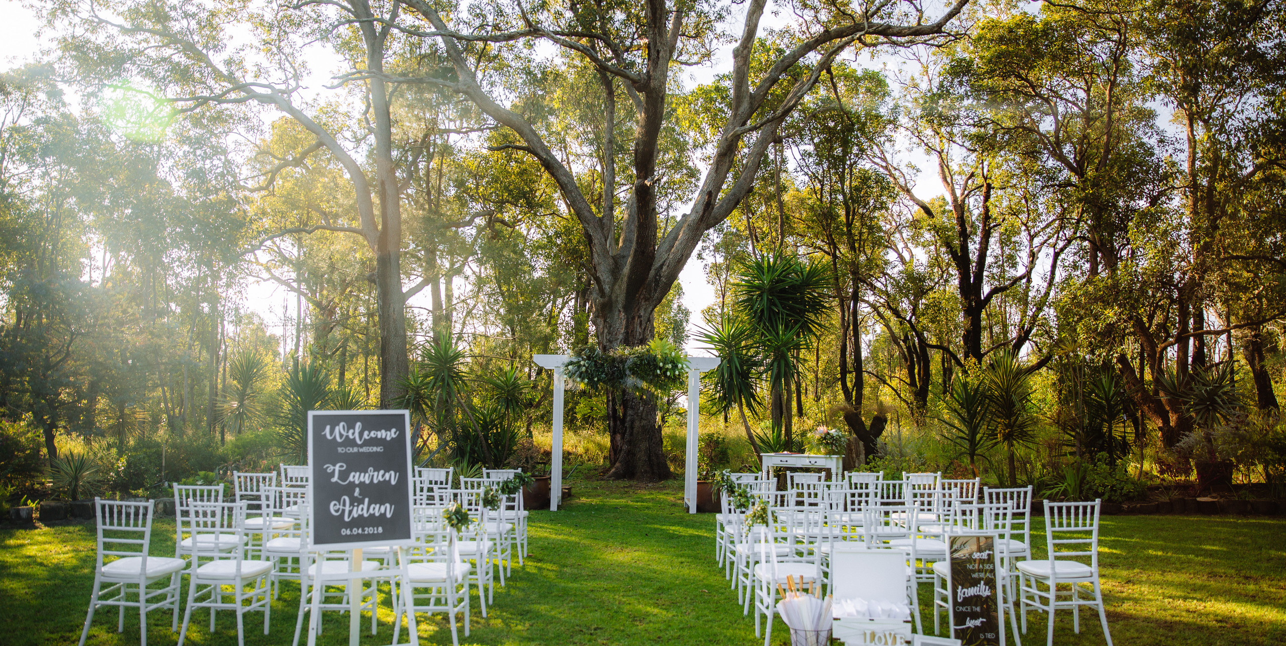 Wedding Ceremony at Rothwood \\ Fine Line Photography