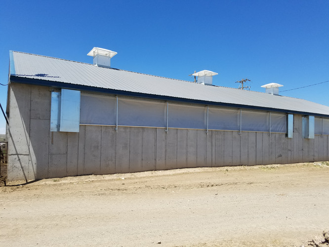 Sidewall Curtains & Minimum Ventilation Chimneys