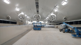 Circulation Fans,Soaking System, PVC Ceiling