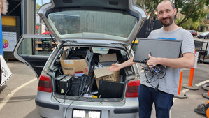 E-waste recycling - Researching it and living it at Lifecycles