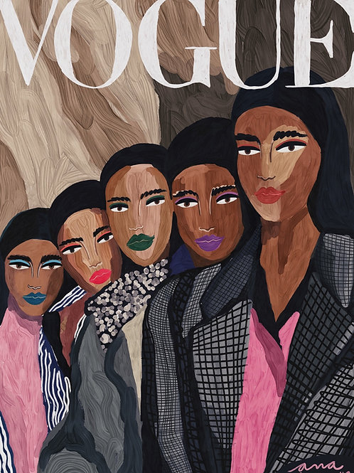 Arab Girls - Vogue Cover