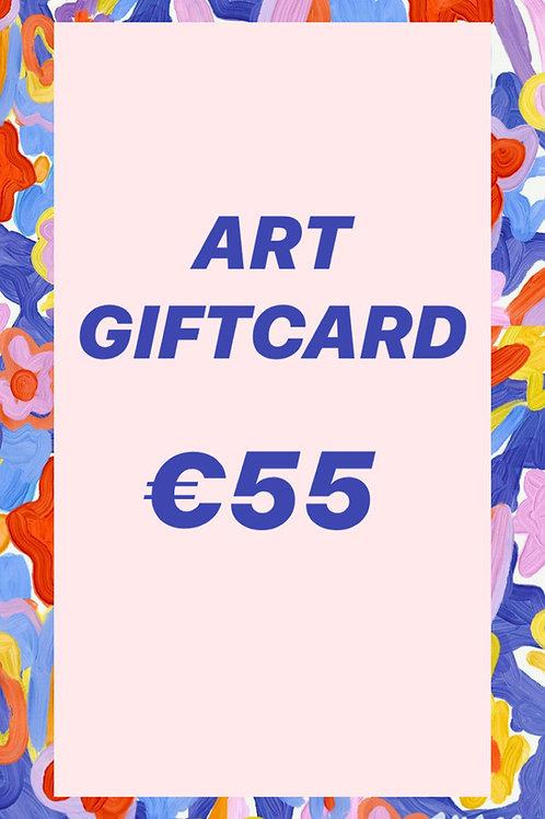 GIFT CARD ♥ €55