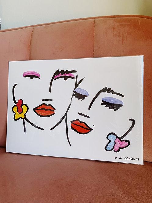 Amor y Mal Humor 30x42cm