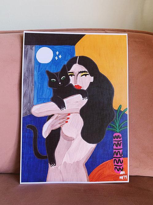 Cat Lover 30x42cm