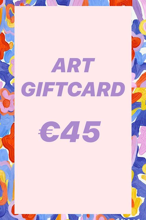 GIFT CARD  ♥  €45