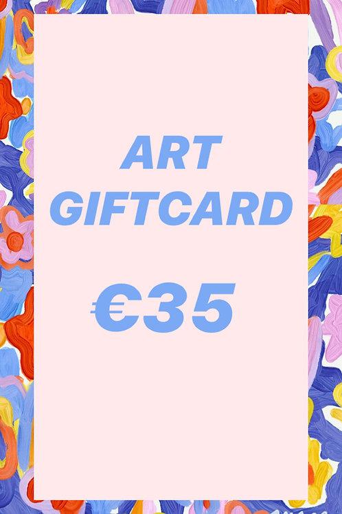 GIFT CARD  ♥  €35