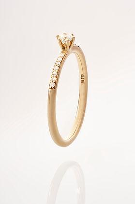 Produktfotografie Schmuckstück Ring von Nina Scheel