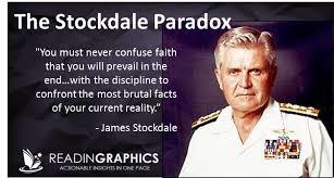 Stockdale paradox and Redha & Tawakal Concept