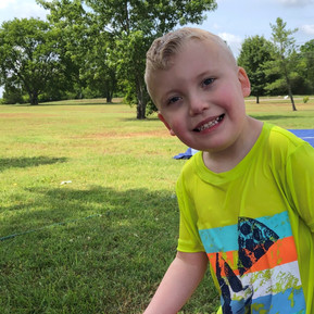 Hi Ho, Hi Ho, It's off to Camp I go! Wyatt's Story