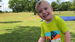 Hi Ho, Hi Ho, It's off to Camp I go! Wyatt's Story