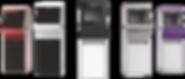 Цветовые схемы дезинекторов для рук Дезарис