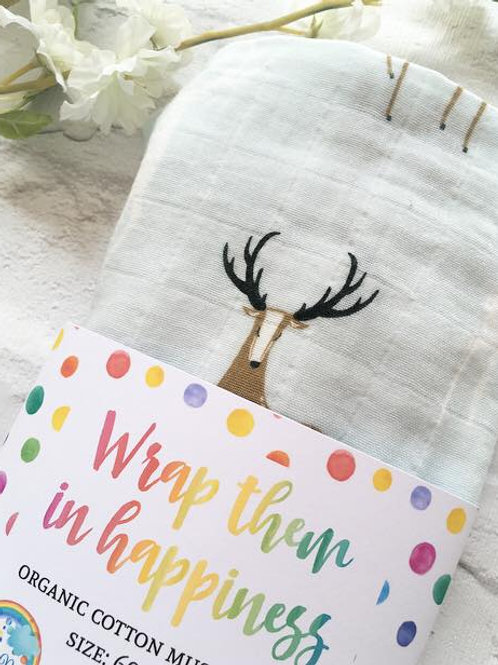 Stag Organic Cotton Muslin