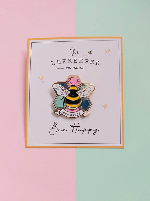 Bee Themed Pin Brooches