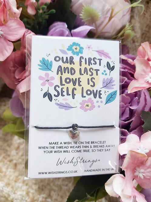 Self Care Wish Bracelet