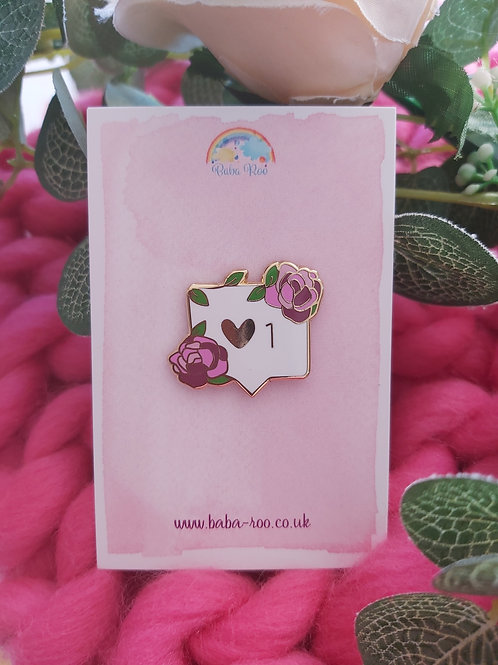 Love Inbox Pin Brooch