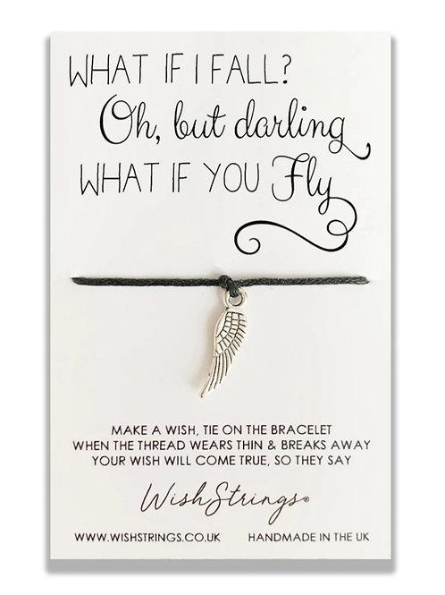 What if I fall? Wish Bracelet