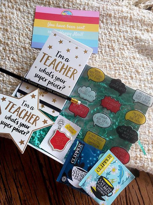 Superhero Teacher Box