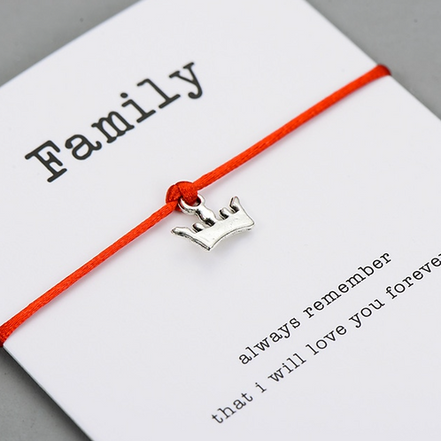 Family Wishing Bracelet
