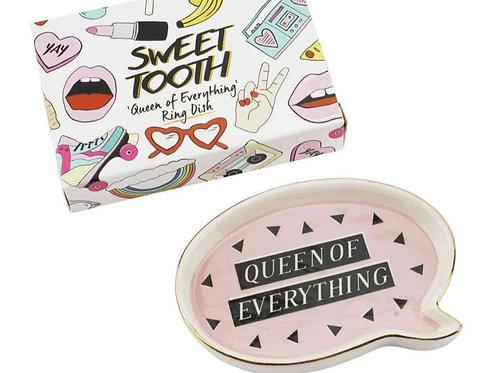 Queen of Everything Trinket Dish