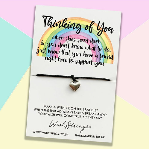 Thinking of You Wish Bracelet