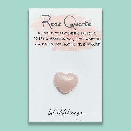 Rose Quartz Keepsake Token
