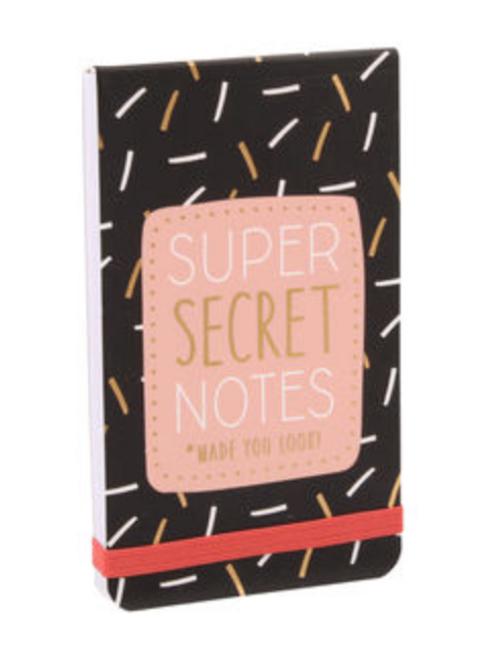 Super Secret Notes Notepad