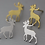 Thumbnail: Reindeer Stud Earrings