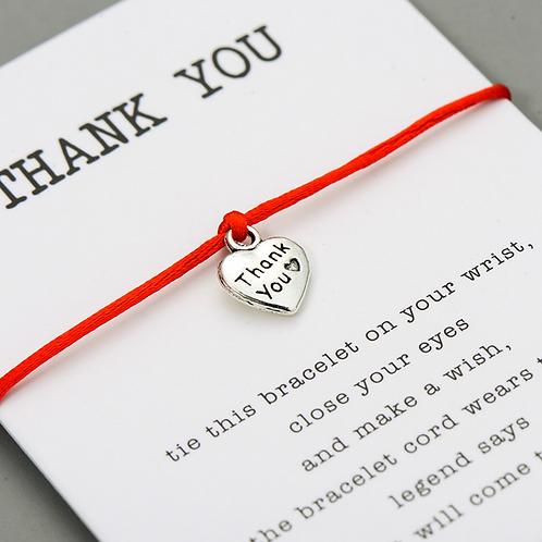 Thank You Wishing Bracelet