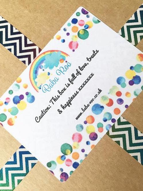 DELUXE 7 Item Happy Mail Box