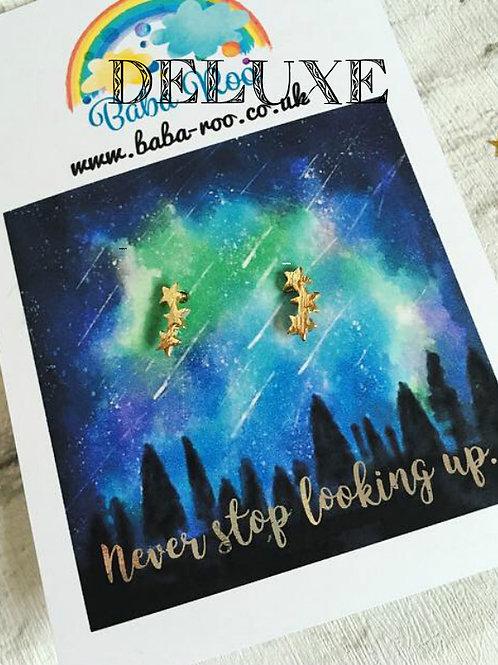 'Never Stop Looking Up' Stud Earrings