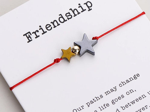 Friendship Star Wish Bracelet