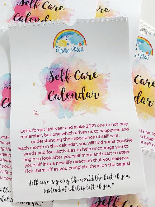 Self Care Calendar 2021