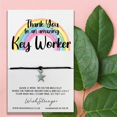Key Worker Wish String