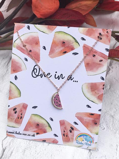 'One in a Melon' Necklace
