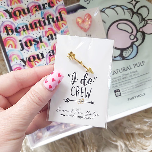I Do Crew Pin Brooch